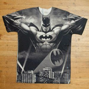 Batman Double Sided All Over Print Graphic Tee